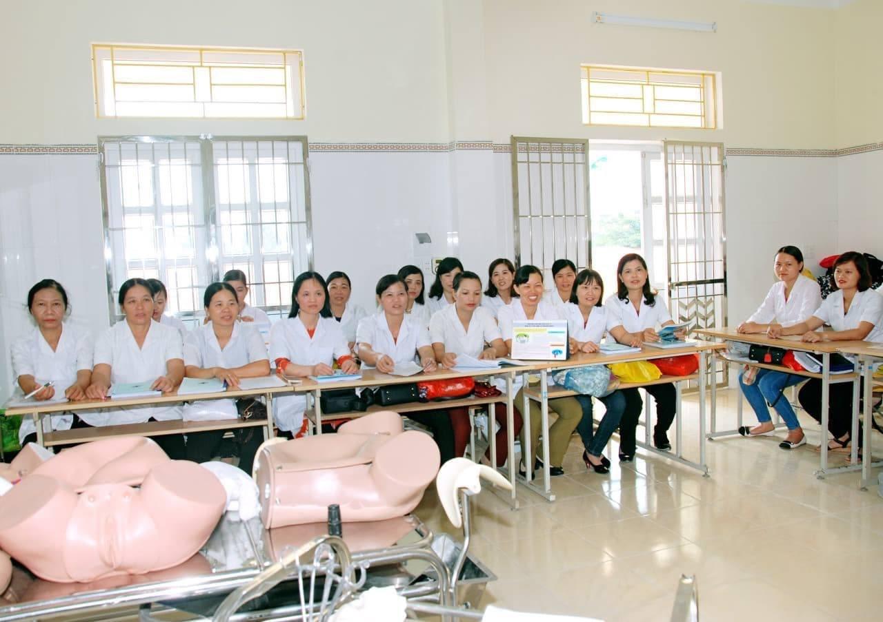 Tiết học thực hành sản của cô giáo Tăng Huyền