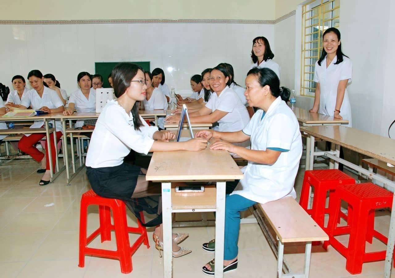Tiết học thực hành sản của cô giáo Tăng Huyền 2