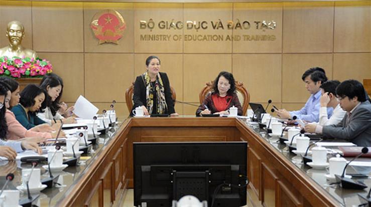 Bộ GD&ĐT phối hợp với Bộ LĐ,TB&XH tăng cường phòng, chống bạo lực học đường