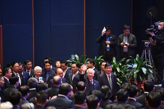 Tổng Bí thư, Chủ tịch nước Nguyễn Phú Trọng dự Lễ kỷ niệm 90 năm Ngày thành lập Đoàn TNCS Hồ Chí Minh